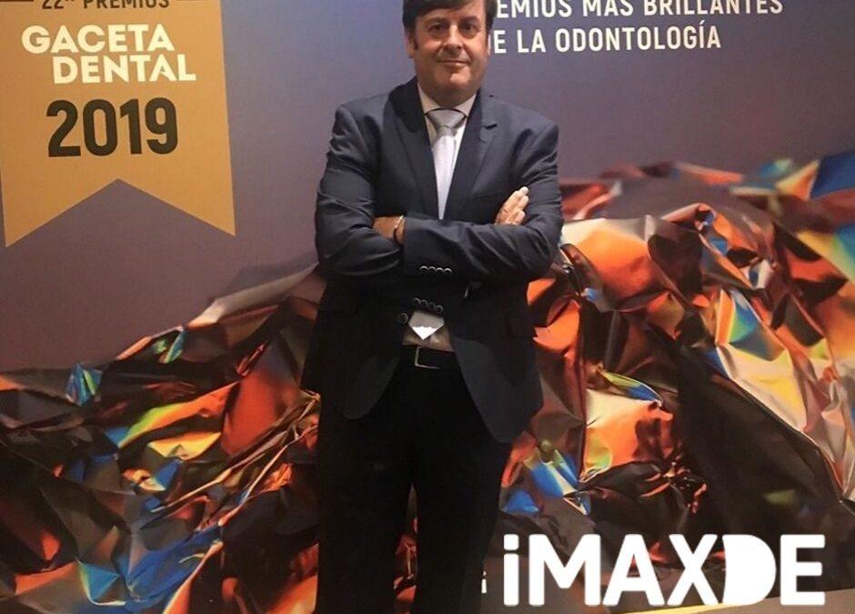 Nuestro Gerente Cesar Calvo Asiste a Los Premios de la Gaceta Dental